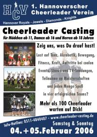 Cheerleader Casting