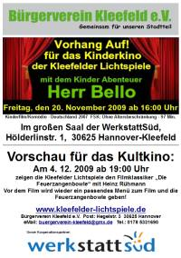 Kinderkino in Kleefeld