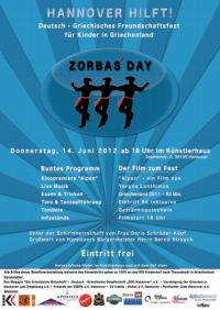 ZORBAS' DAY - Hannover hilft!