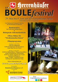 17. Boulefestival Hannover
