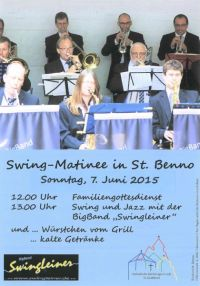 Swing-Matinee in St. Benno